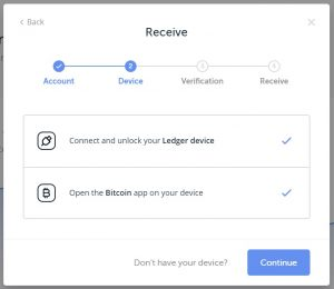 receive btc ledger nz