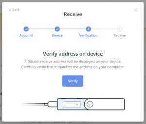 receive bitcoin ledger nano nz