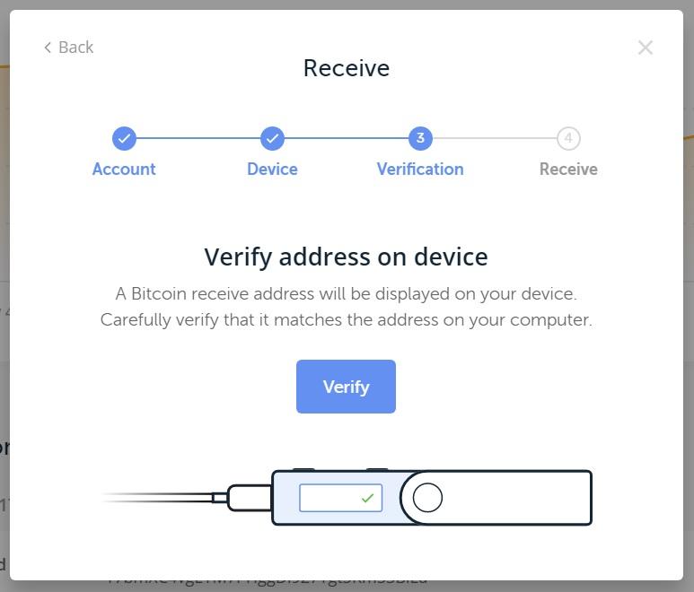 receive bitcoin ledger nano nz