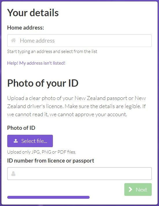 photo id for buying litecoin in nz