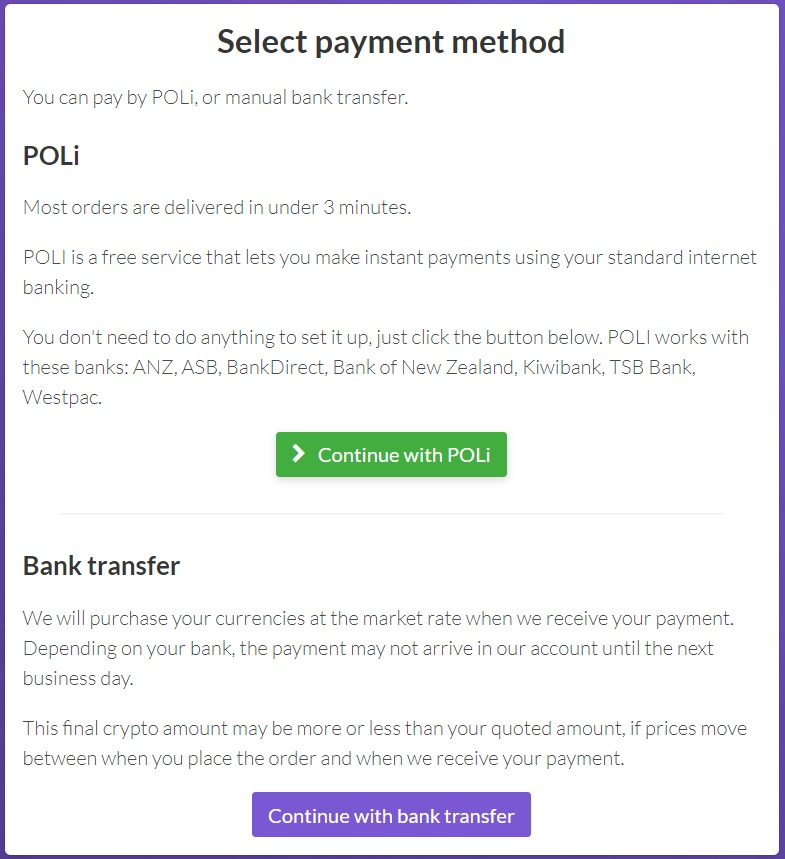 payment method for buying litecoin in nz